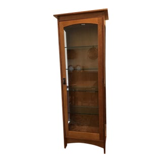 Stickley Mission Oak Display Cabinet