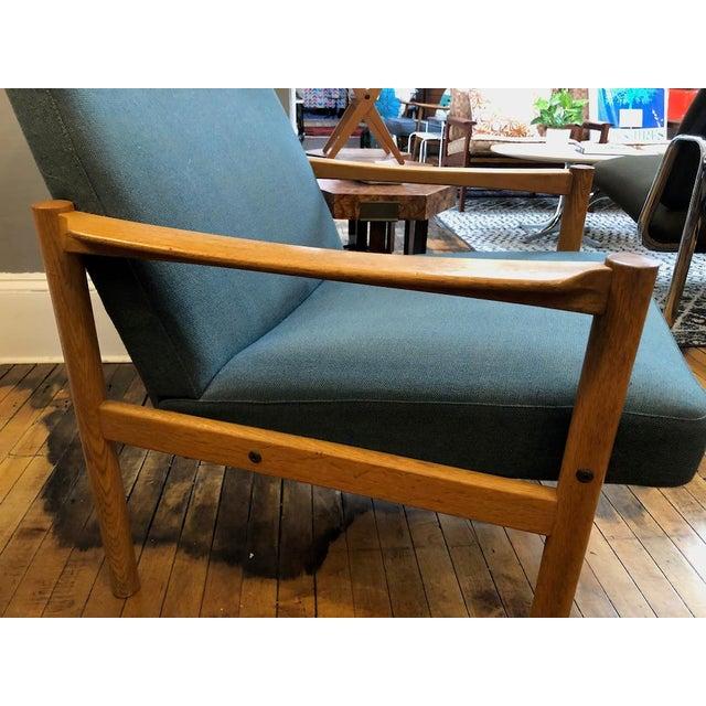 Vintage Swedish Modern High-Back Lounge Chair For Sale - Image 10 of 13