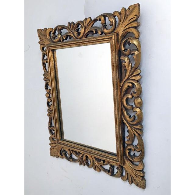 Italian Carved Wood & Gilt Mirror - Image 5 of 7