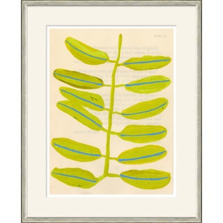 Persian Plum Framed Art Print For Sale