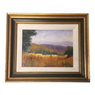 Original Vintage Landscape Painting For Sale