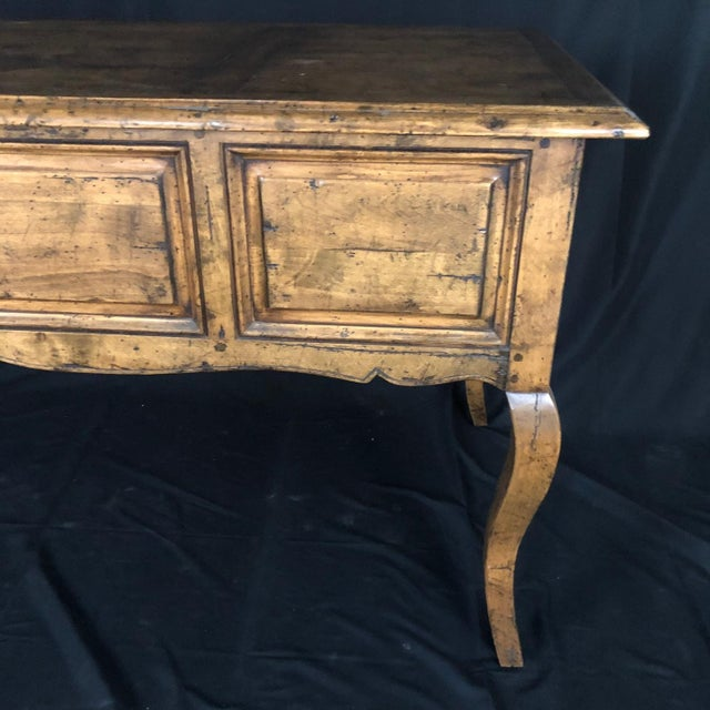 Country French Provincial Desk by Guy Chaddock For Sale - Image 9 of 13