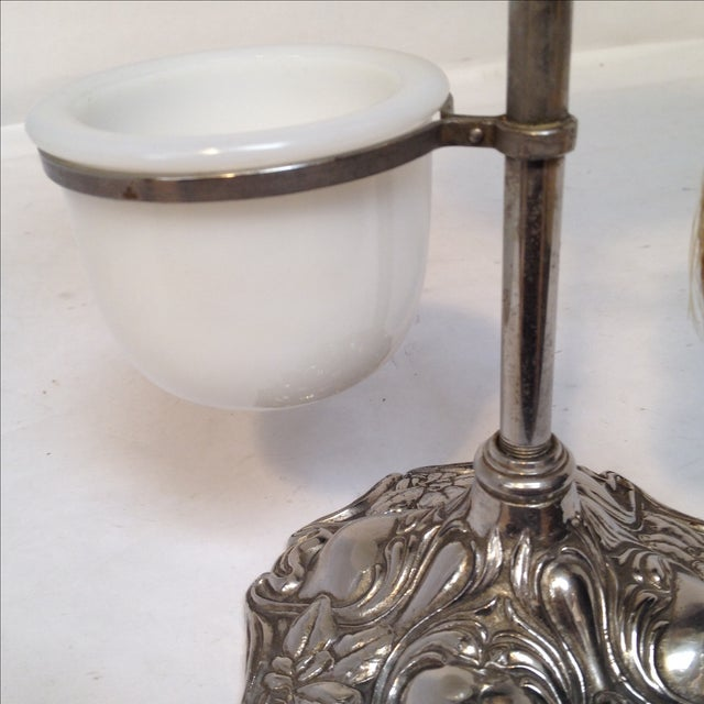 Silver Antique Shaving Stand For Sale - Image 8 of 11