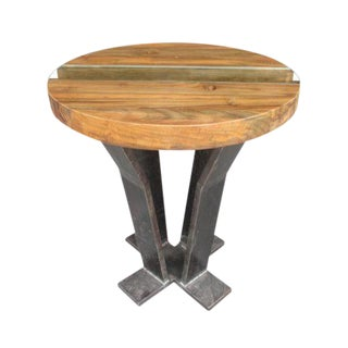 Teak Me Home 'Tides' Teak End Table For Sale