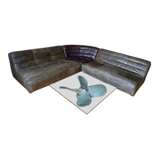Timothy Oulton Shabby Sectional Sofa For Sale