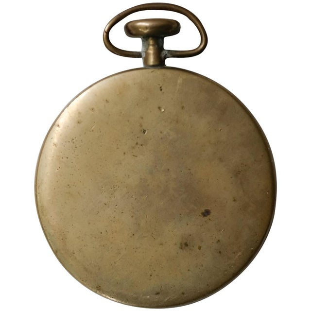 1950s Pocket Watch Paperweight by Carl Auböck For Sale - Image 5 of 5