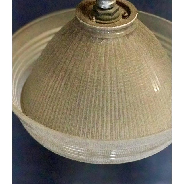 Industrial Pendant Lighting, 1940s For Sale - Image 4 of 7