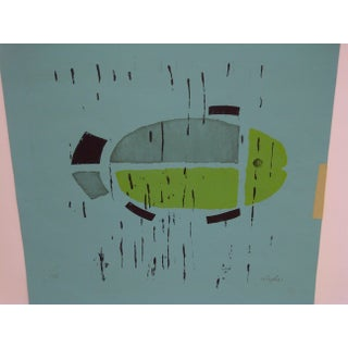 """Limited Edition -- Signed Numbered (1/10) Print -- Titled """"The Fish"""" by Wagler Preview"""