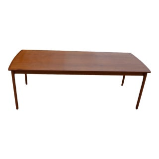 1960's Danish Modern Teak Coffee Table by Ole Waschner For Sale
