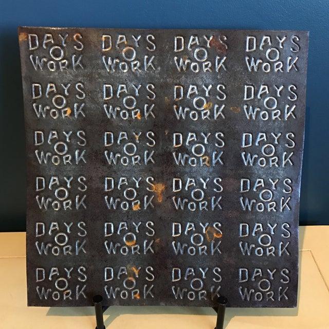 """""""Days O Work"""" Tobacco Tin Sheet - Image 2 of 6"""