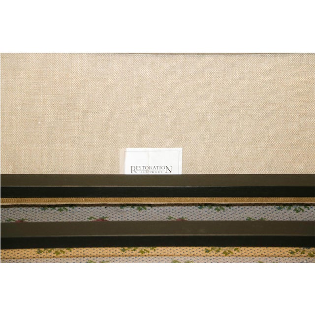Restoration Hardware Warner Fabric King Bed - Image 9 of 10