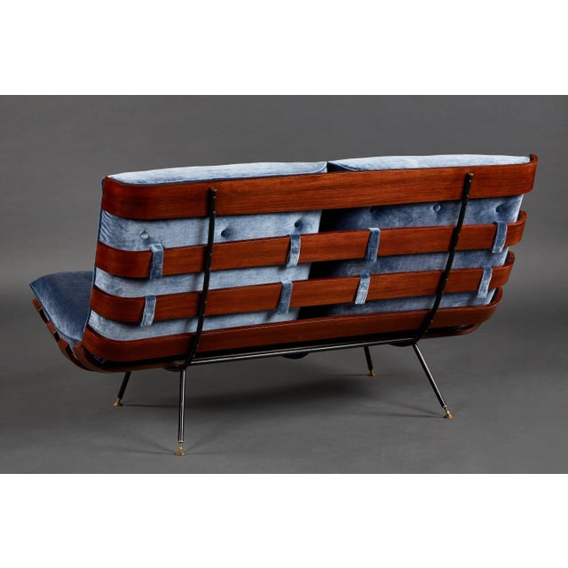 """Carlo Hauner """"Costela"""" (""""Rib"""") Suite by Carlo Hauner and Martin Eisler For Sale - Image 4 of 11"""
