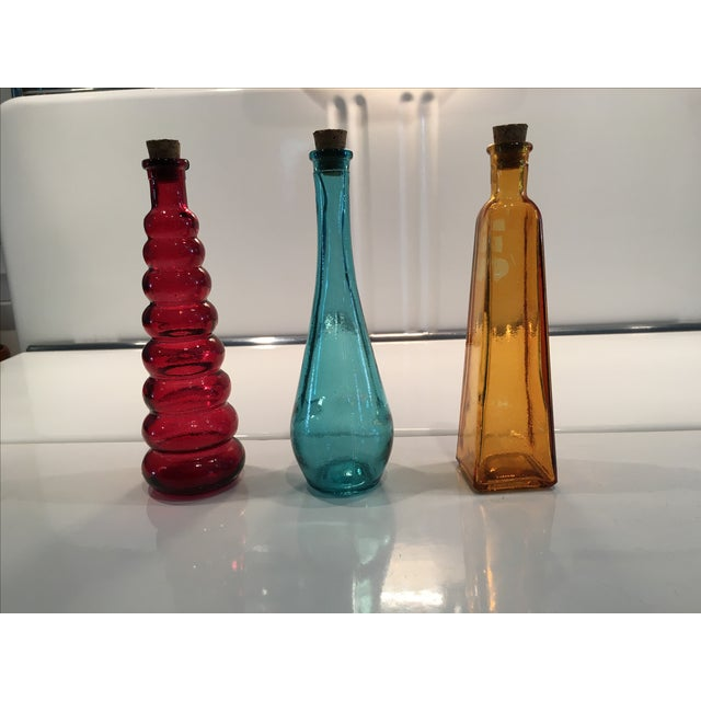 Vintage Glass Bottles - Set of 3 - Image 2 of 5