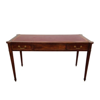 Baker Collector's Edition Leather Top Desk For Sale
