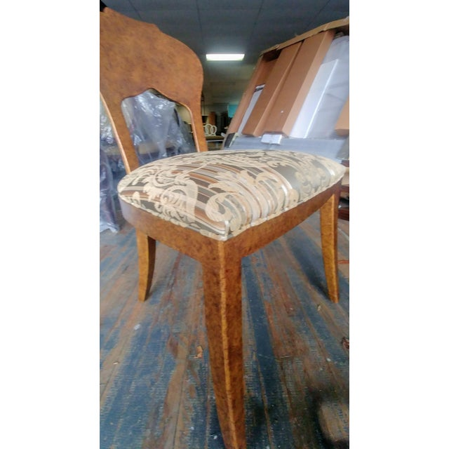 Henredon Furniture Arabesque Solid Antiqued Metal Ladies Desk Chair For Sale In Greensboro - Image 6 of 12
