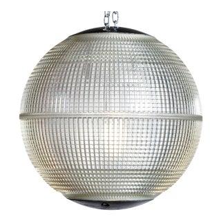 Parisian Holophane Globe Street Light For Sale