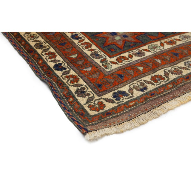 """New Tribal Hand Knotted Area Rug - 5'2"""" x 8'9"""" - Image 2 of 3"""
