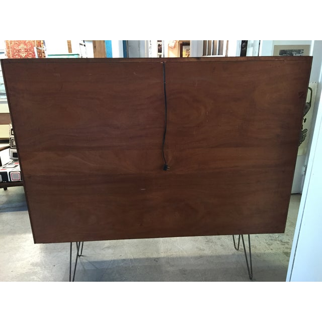Mid Century Modern Cabinet on Hairpin Legs - Image 5 of 10