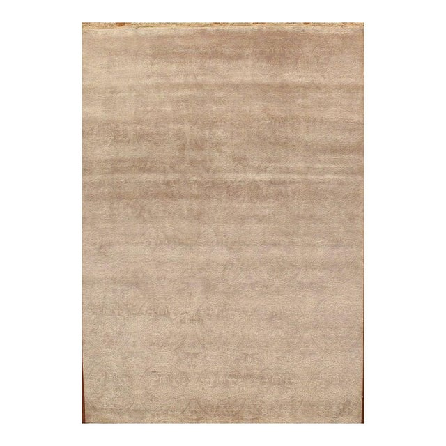 Tabriz Traditional Hand-Knotted Rug - 6'x9' - Image 1 of 2