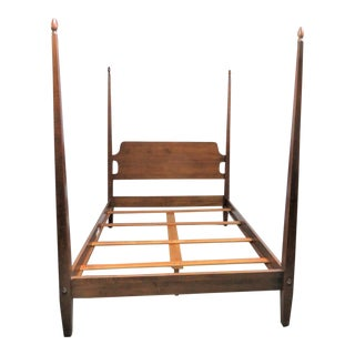 "Ethan Allen ""New Country"" Queen Size Poster Bed For Sale"
