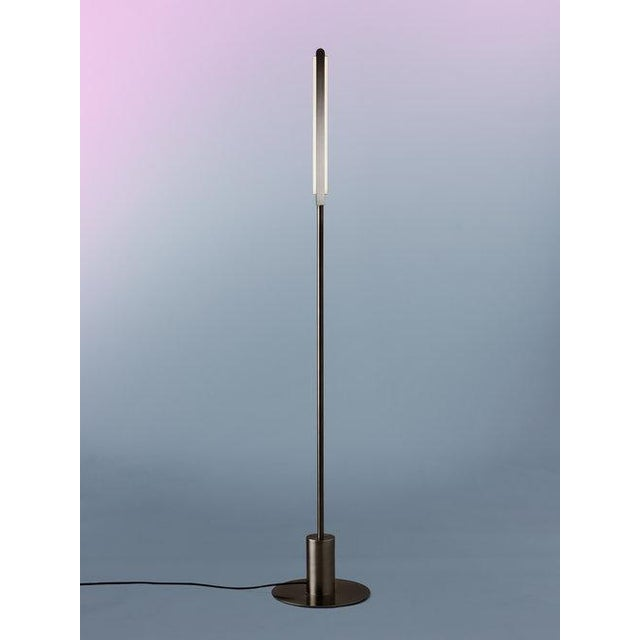 """By Pelle Starting Price: $4,700 in satin brass Specifications: 12"""" d x 12"""" w x 66"""" h (19.75lb) Shown In: Black Brass..."""