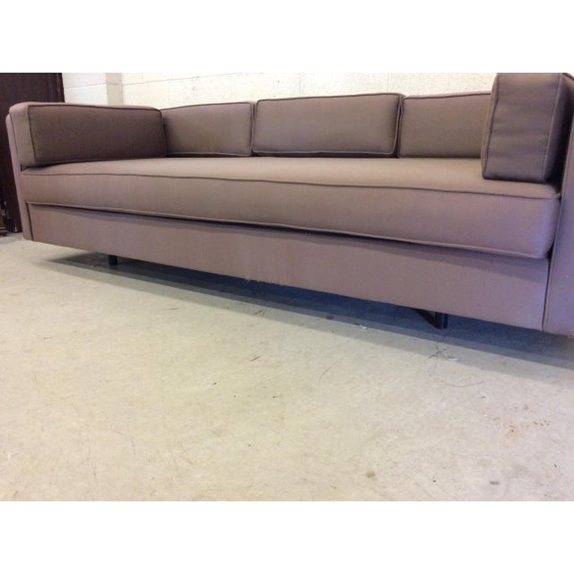 Mid Century Modern Knoll-Style Floating Sofa For Sale - Image 5 of 10