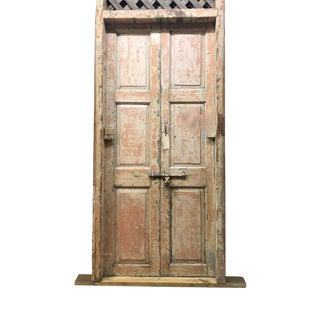 Antique Indian Architectural Doors With Original Hardware For Sale