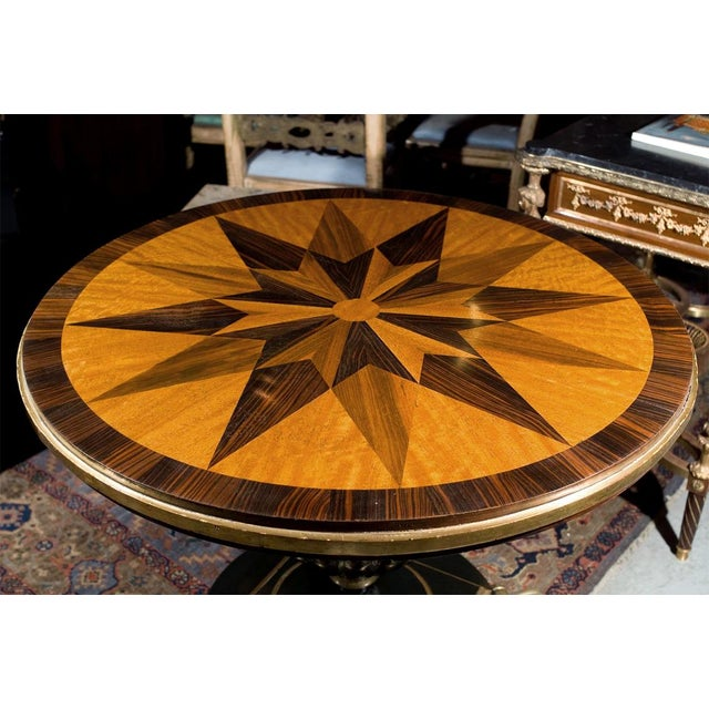 19th-Century Continental Center Table - Image 2 of 6