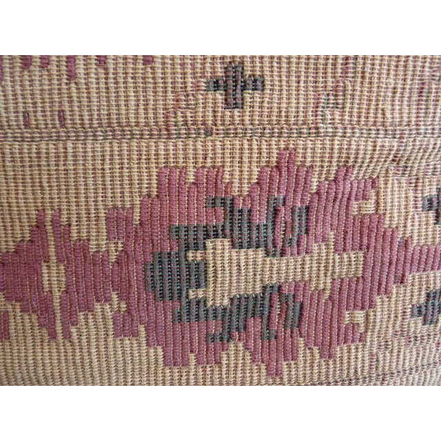 Flat Weave Tapestry Floor Pillow - Image 4 of 5