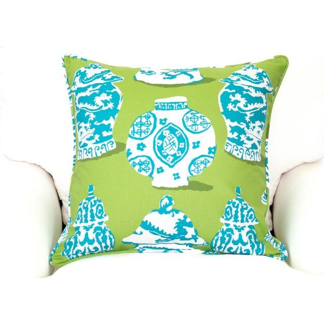 Dana Gibson Ginger Jar Pillow - Image 2 of 3