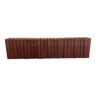 Vintage 1930s Encyclopedia Books - Set of 25 For Sale