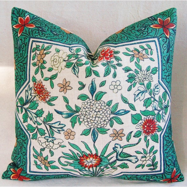 """Chic Spring Floral Blossom Feather/Down Linen Accent Pillow 20"""" - Image 2 of 4"""