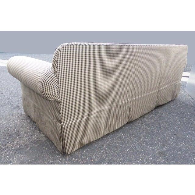 Glabman Furniture Plaid 3 Seater Sofa - Image 7 of 11