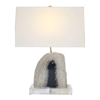 Petrified Palm Wood Lamp