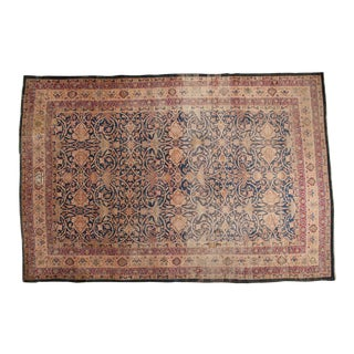 "Antique Kerman Carpet - 10'1"" x 14'11"" For Sale"