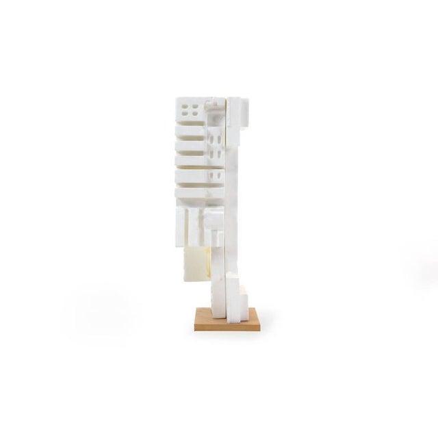 Irving Harper Irving Harper Sculpture of Styrofoam from His Paper Sculpture Series For Sale - Image 4 of 9