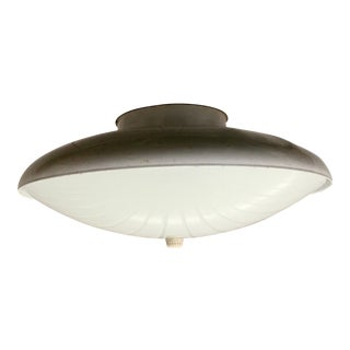 Mid-Century Atomic Flush Mount Fixture