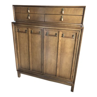 1950s Mid-Century Modern Kroehler Highboy For Sale