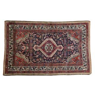 """Vintage Tajabad Rug - 3'5"""" X 5'5"""" For Sale"""
