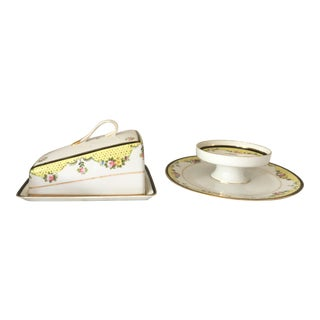 1930s Noritake Batista Serving Pieces - a Pair For Sale
