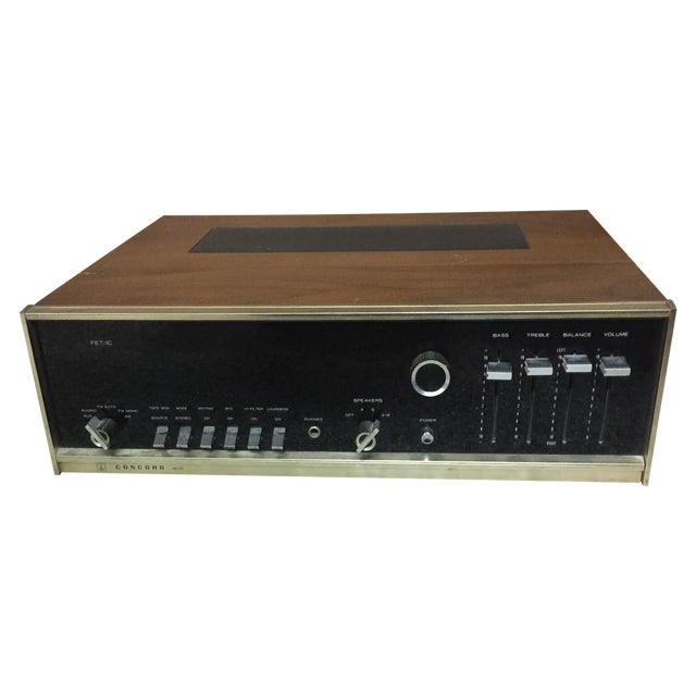 Vintage 1971 Concord Receiver - Image 1 of 6