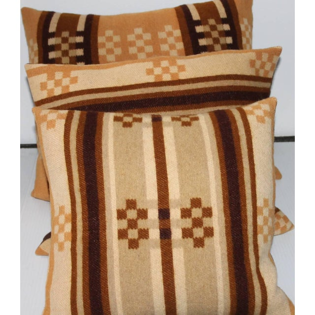 Group of Four Horse Blanket Pillows For Sale - Image 4 of 10