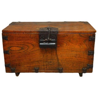 19th Century Korean Tansu Bandaji Chest For Sale