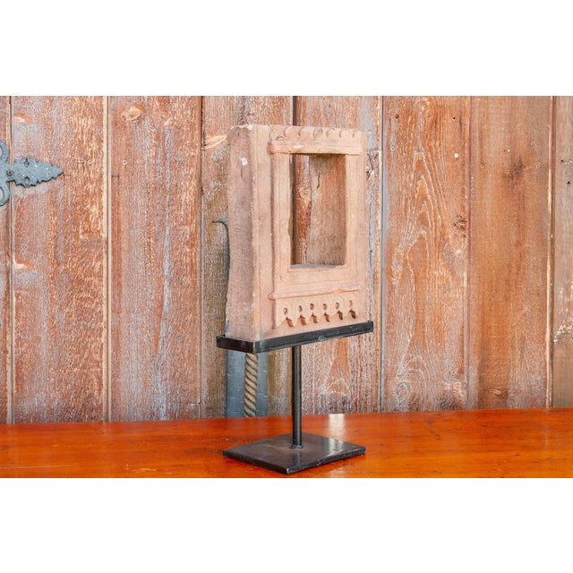 19th Century 19th Century Architectural Niche on Stand For Sale - Image 5 of 9