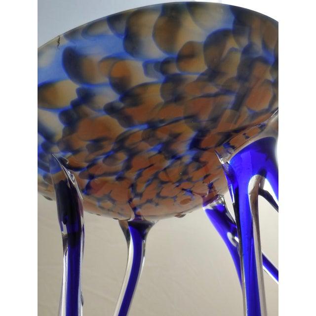 Josefina, Krosno Poland Footed Glass Compote - Image 6 of 8