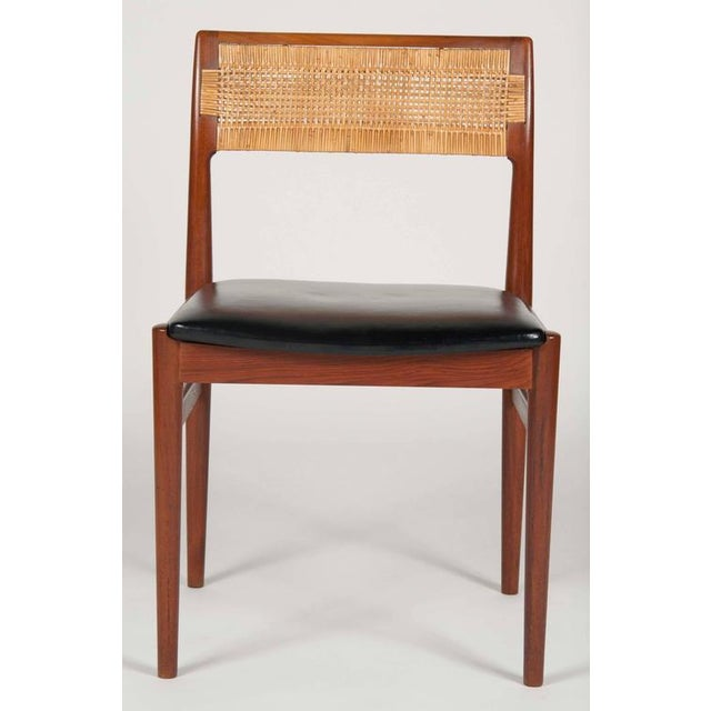 Wood Model W26 Teak Chairs by Erik Worts - Set of 4 For Sale - Image 7 of 12