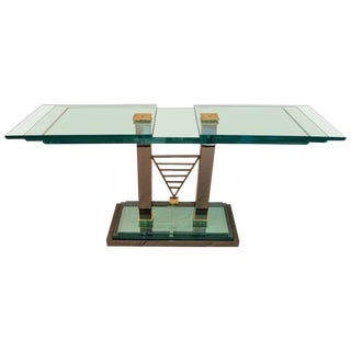 Console Table Design by Design Institute of America Dia For Sale