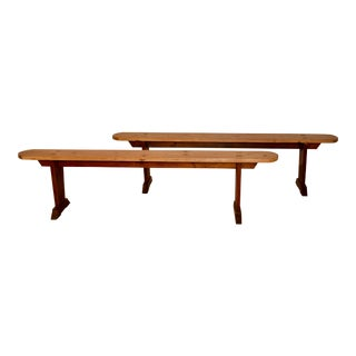 Pair of 19th Century French Benches For Sale