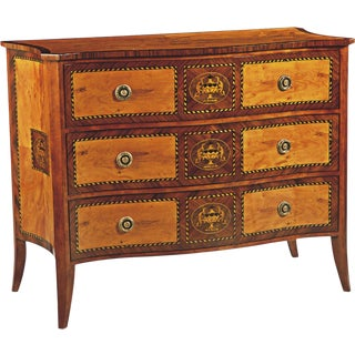 Scarborough House Yew Rosewood Chest of Drawers For Sale