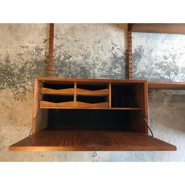 Poul Cadovius Teak Cado Wall Unit Denmark For Sale In New York - Image 6 of 13